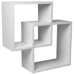 Nicho Acoplado Branco 34cm  - Decorprat