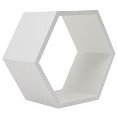 Nicho Colmeia 32cm Branco  - Decorprat