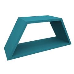 Nicho em Madeira Half 54x25cm Azul Tiffany - Muve Design