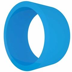 Nicho em Mdf Redondo 39cm Azul Escuro