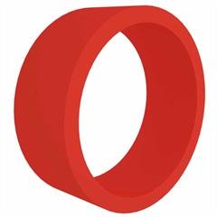 Nicho em Mdf Redondo 39cm Vermelho - Decorprat