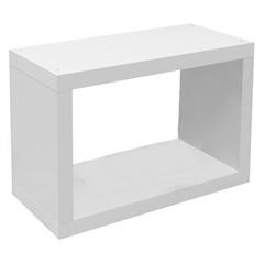 Nicho em Mdp Tendenza 25x60cm Branco - Prat-k