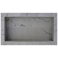 Nicho em Porcelanato Thar Bianco 30x60cm - Anticatto