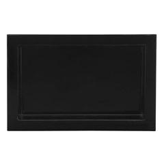 Nicho para Banheiro 30x50cm Preto - Líder Gabinetes