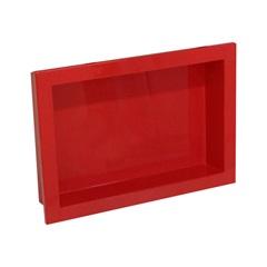Nicho para Banheiro Nice 34x49cm Vermelho - Venturi