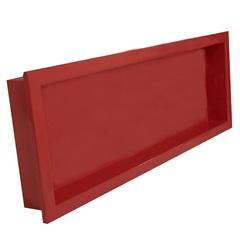 Nicho para Banheiro Nice 34x94cm Vermelho - Venturi