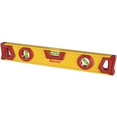 Nível de Alumínio 14'' Amarelo E Vermelho - Starrett