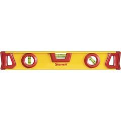 Nível de Alumínio 16'' Amarelo E Vermelho - Starrett