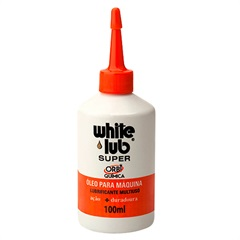 Óleo Multiuso White Lub Super 100ml - Orbi Química
