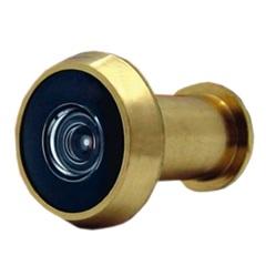 Olho Mágico para Porta de 25 a 42mm 200° Dourado - Papaiz