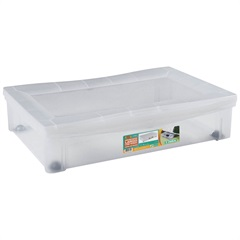 Organizador com Rodas Log 16x63,5cm Transparente - Ordene
