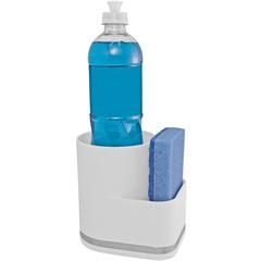 Organizador de Pia em Plástico Eleganza Branco - Future