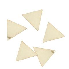 Painel Decorativo Triângulo 30x25cm Amarelo - Casa Etna