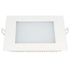 Painel Led de Embutir Quadrado Lux 12w Autovolt Branco 17cm 6500k Luz Branca - Taschibra