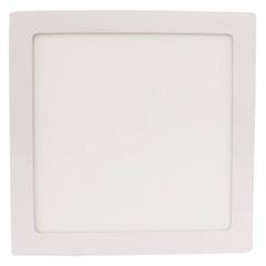 Painel Led de Sobrepor Quadrado 18w Bivolt Branco 6000k Luz Branca - Casanova