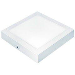 Painel Led de Sobrepor Quadrado Lux Autovolt Branco