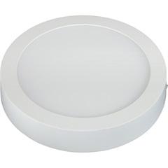 Painel Led de Sobrepor Redondo 12w Bivolt 17cm 6500k Luz Branca - Taschibra