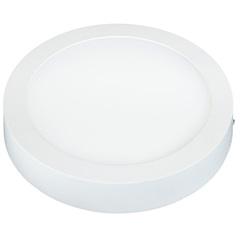 Painel Led de Sobrepor Redondo Lux 12w Autovolt Branco 18cm 3000k Luz Amarela - Taschibra