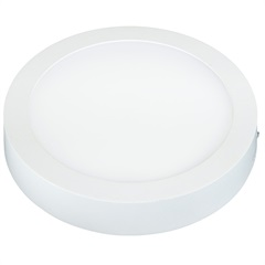 Painel Led de Sobrepor Redondo Lux 24w Autovolt Branco 31cm 6500k Luz Branca - Taschibra