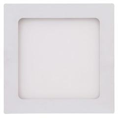 Painel Led Quadrado de Embutir 32w Bivolt 40cm Branco 3000k Luz Amarela - Brilia