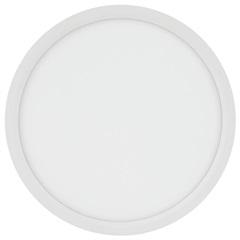 Painel Led Redondo de Embutir 24w Bivolt 29cm Branco 6500k Luz Branca - Brilia