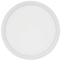 Painel Led Redondo de Sobrepor 24w Bivolt 29,5cm Branco 6500k Luz Branca - Brilia