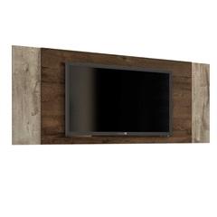 Painel para Tv 43'' Jaspe Cacau E Cacau Grigio Flex 133,5x72cm - JCM Movelaria