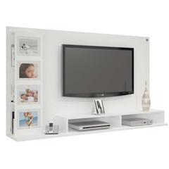 Painel para Tv 65'' Sabiá Branco 182x108cm - JCM Movelaria