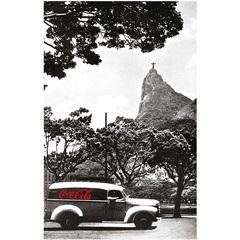Pano de Prato em Algodão Coca-Cola Landscape Rio de Janeiro Preto E Branco - Urban