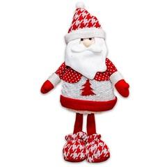 Papai Noel Tradicional 38cm Vermelho - Casa Etna