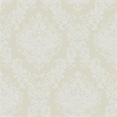 Papel de Parede Estilo Tradicional Arabesco Areia 0.53x10m - Colorful