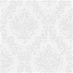 Papel de Parede Estilo Tradicional Arabesco Branco E Cinza 0.53x10m - Colorful