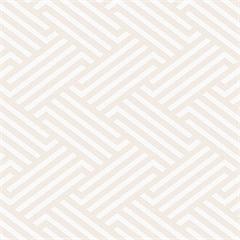 Papel de Parede Geométrico 100x52cm Bege - Casa Etna