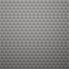 Papel de Parede Geométrico Cubo Mágico 52cm com 10 Metros Bege - Casa Etna