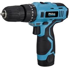 Parafusadeira a Bateria 12v 3/8'' Ppf03 Azul - Philco
