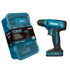 Parafusadeira E Furadeira a Bateria 12v 3,8'' Ws2550k Azul - Wesco