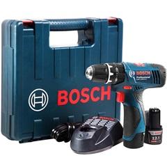 Parafusadeira E Furadeira de Impacto 110v Gsb 1200-2-Li Professional sem Fio Azul E Preta  - Bosch