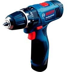 Parafusadeira E Furadeira de Impacto 220v Gsb 1200-2-Li Professional sem Fio Azul E Preta  - Bosch