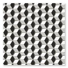 Pastilha de Vidro Borda Bold Illusion Mix Matte Bege 30x30,2cm - Portinari