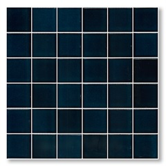 Pastilha em Porcelanato Esmaltada Jd4802 Azul Mediterrâneo 30,3x30,3cm - Jatobá