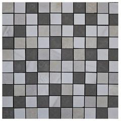 Pastilha em Porcelanato Mosaico Cc320036 Bege E Cinza 31,5x31,5cm - Anticatto