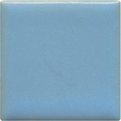 Pastilha Esmaltada Borda Reta Trancoso Azul 5x5cm - Jatobá