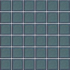 Pastilha Esmaltada Decoração Azul Capri 5x5cm - Jatobá