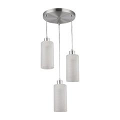 Pendente Cilíndrico para 3 Lâmpadas em Alumínio Jasmin - Blumenau