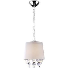 Pendente para 1 Lâmpada São Paulo 22x25cm Branco - Bronzearte