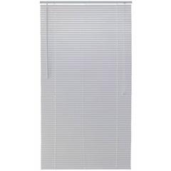 Persiana Horizontal em Pvc Block 130x140cm Branca