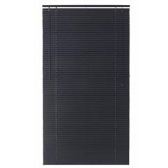 Persiana Horizontal em Pvc Block 150x140cm Preta - Top Flex