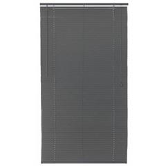 Persiana Horizontal Pvc Block 140x150cm Cinza - Top Flex