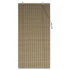 Persiana Rolo Bambu Caramelo 100x160cm - Top Flex