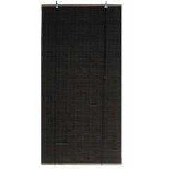 Persiana Rolo Bambu Marrom 160x160cm - Top Flex
